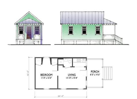 katrina home plans the katrina cottage model 416