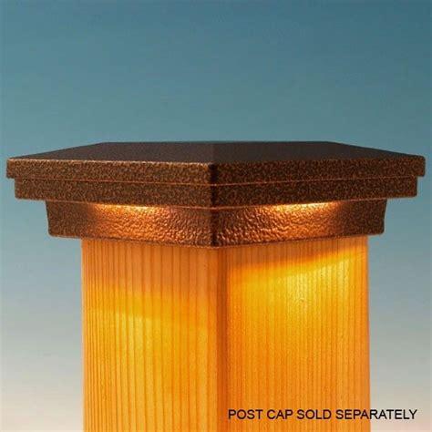 deck post lights solar 19 best images about fence post caps on pinterest cap d