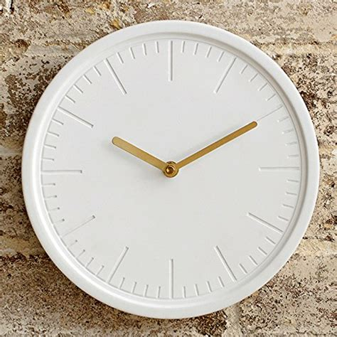 beautiful wall clock white wall clock by beautiful things online round 10