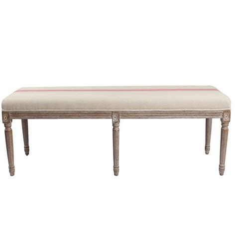 bench red blink home lafontaine bench red stripe