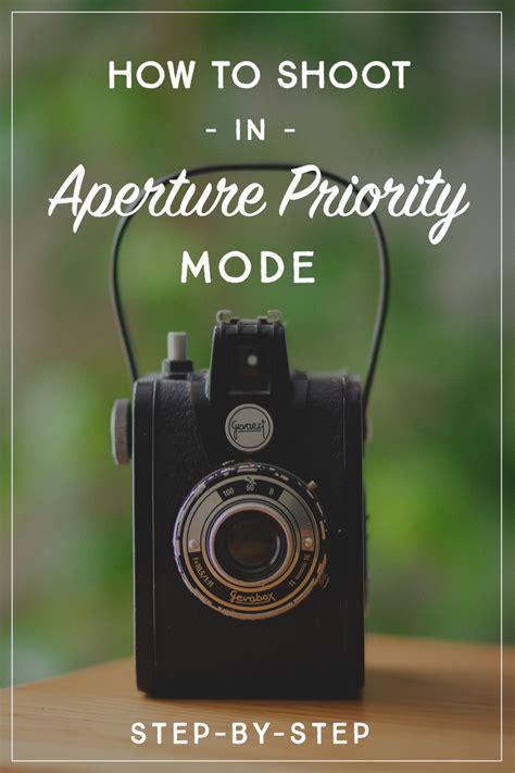 shoot  aperture priority mode