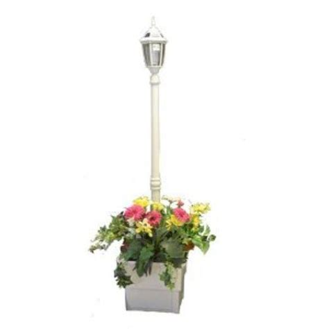 Light Planters by Solar Light Square Planter Garden