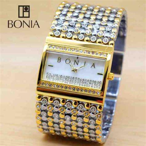 Jam Tangan Bonia Rantai Merica jual jam tangan bonia kotak rantai bulat stainless jam
