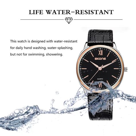 Mortima Casual Water Resistant 5atm Coklat skone casual ultra thin watches simple quartz