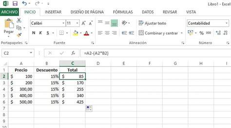 como calcular intereses moratorios en excel c 243 mo calcular porcentajes en excel gu 237 a f 225 cil y r 225 pida