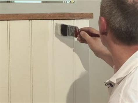 Bathroom Designs 2012 by How To Paint Your Paneling Youtube