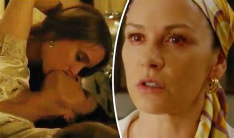 film semi telenovela the cocaine godmother catherine zeta jones shares steamy