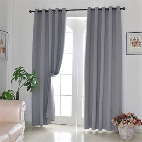 h versailtex h versailtex blackout grey curtains for bedroom living