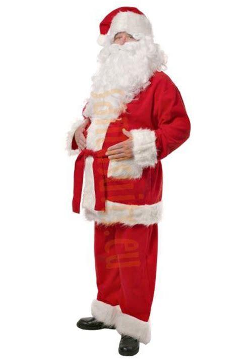santa jacket and hat deluxe fleece santa suit set 5 parts santa suits