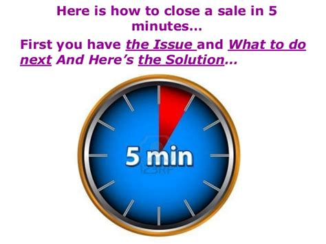 Cruise Seal The Deal With A 3 Minute by Seal The Deal In 5 Minutes A Solution To Closing Those