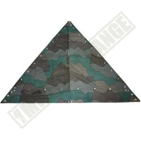 tenda militare usata telo tenda mimetico svedese usato