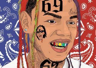 Drawing 6ix9ine by 6ix9ine Ft Fetty Wap A Boogie Wit Da Hoodie Keke
