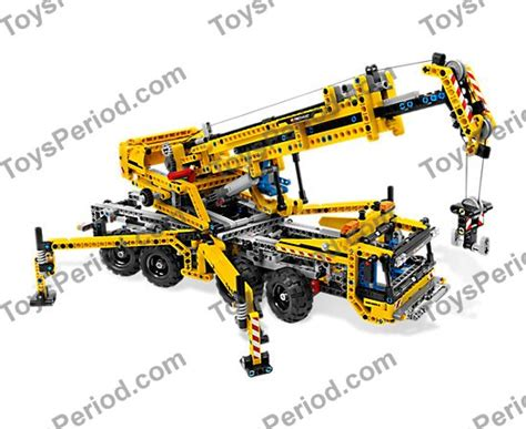 Lego Technic Mobile Crane 8053 lego 8053 mobile crane set parts inventory and
