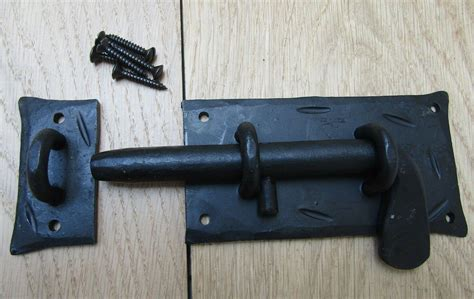 hand forged cottage  bolt  rustic retro vintage