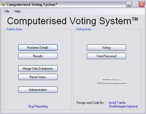 design online voting system computerised voting system shubhangam agrawal