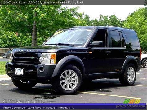 land rover lr3 black java black pearl 2007 land rover lr3 v8 se black