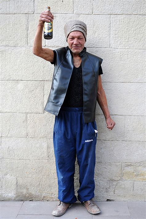 55 year old men fashion 55 year old slavik is the most stylish homeless man in ukraine