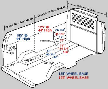 chevrolet express dimensions detailed measurements for interior dimensions chevy