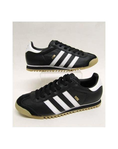 Adidas Rom Black Original adidas originals rom umber trainer