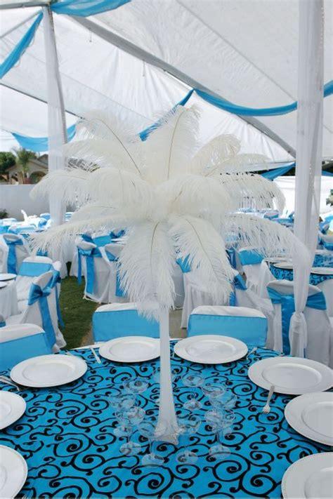 malibu blue black and white wedding colors wedding