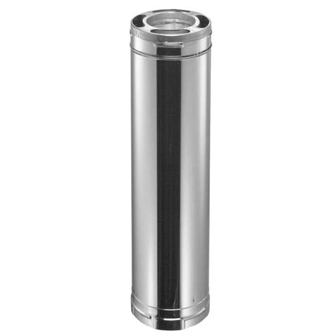 home depot pipe l duravent duraplus 6 in dia x 36 in l stainless steel