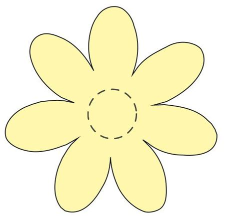 pattern flower applique flower applique template daisy appliqu 233 s this is one