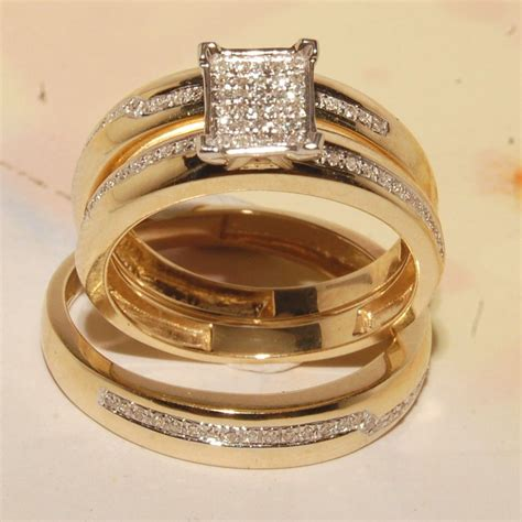 Wedding Rings For Sets by Cheap Wedding Rings Sets For Him And