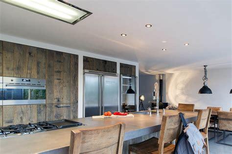 keuken hout en beton keuken hout beton