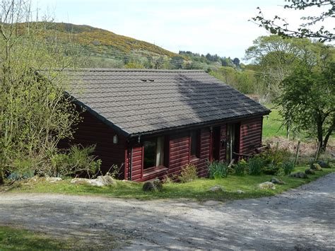 self catering accommodation log cabin in sandyhills