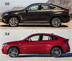 2015 bmw x6 vs 2015 bmw x4 looking at cars