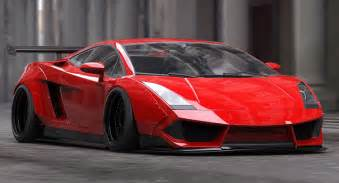 liberty walk s treatment of the lamborghini gallardo is
