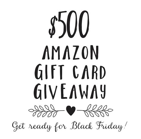 What Shops Can You Buy Amazon Gift Cards - 500 amazon gift card giveaway closed blooming homestead