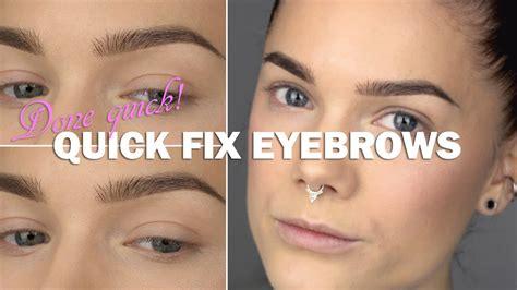 eyeliner tutorial linda hallberg done quick quick fix eyebrows linda hallberg makeup