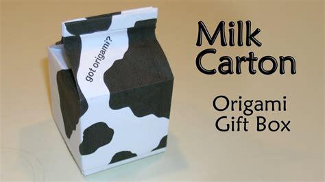 Origami Milk - origami milk gift box by makoto yamaguchi