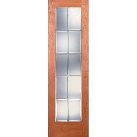 Builder S Choice 24 In Builder S Choice 24 In X 80 In 24 In Clear Pine Wood 10 Lite Interior Door Slab