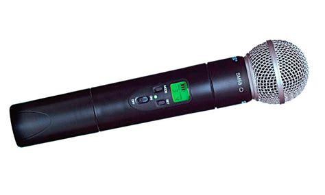 Wireless Microphone Shure Bisa Ubah Frequensi shure ulx2 58 sm58 handheld wireless mic transmitter