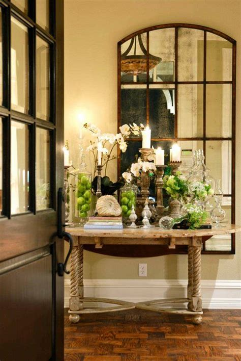 Beautiful Entryway Tables Beautiful Entry Table And Mirror Home Decor Ideas