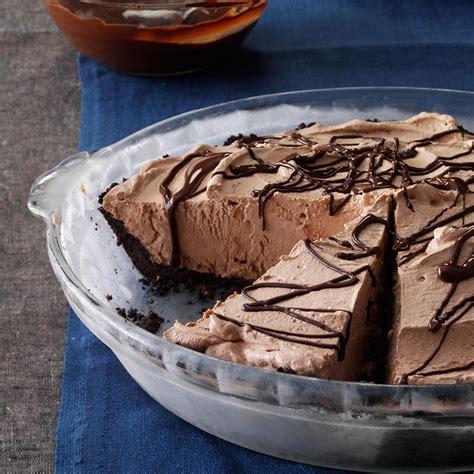 smooth chocolate pie recipe taste of home