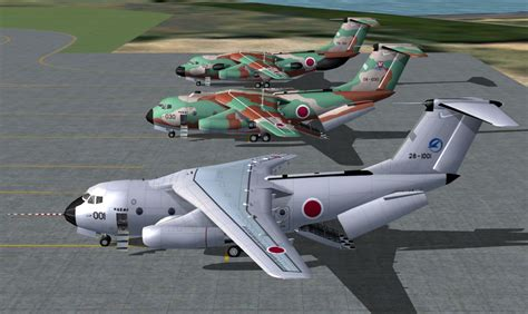 Diecast Miniatur Kawasaki C 1 Jasdf Japan Air Self Defense ai works ai kawasaki c 1 ec 1 jasdf jyai