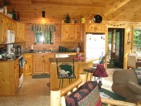 cabin kitchens ideas fresh log cabin decorating ideas 13955