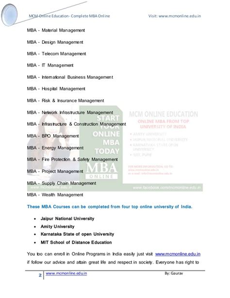 Mba Rural Management Syllabus by Mba Courses Amity Jaipur National