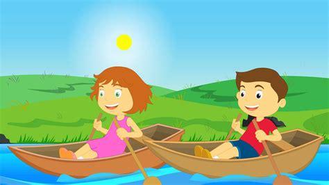 row row row your boat lyrics funny row row row your boat nursery rhymes youtube
