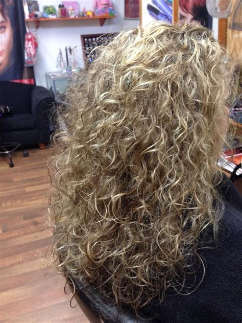 long hair perms loose curls gorgeous loose curl perm another view hair
