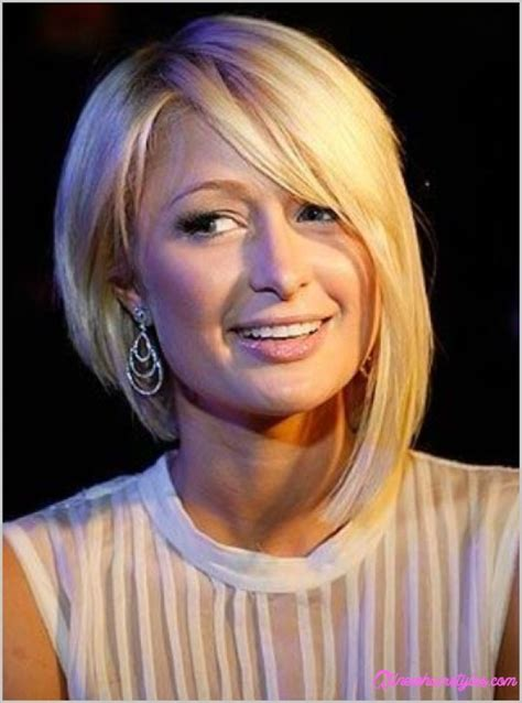a symetric hair cut round face short asymmetrical haircuts for round faces