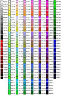 color hex to rgb rgb hex triplet color chart web safe colors netscape
