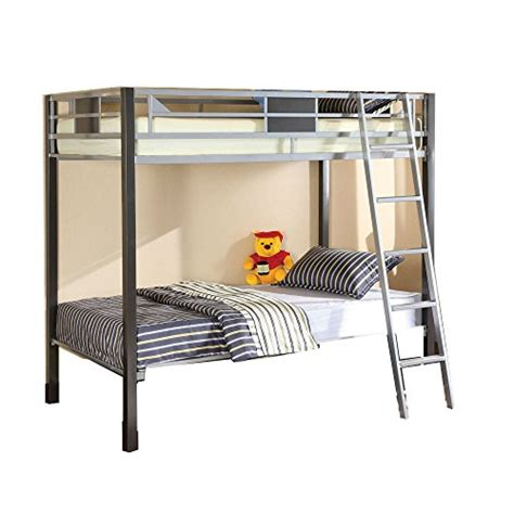 Furniture Of America Cletis Youth Bunk Bed Twin Twin Best Deals On Bunk Beds