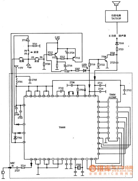integrated circuit parts tmm41256p dram integrated circuit diagram telephone related circuit electrical equipment
