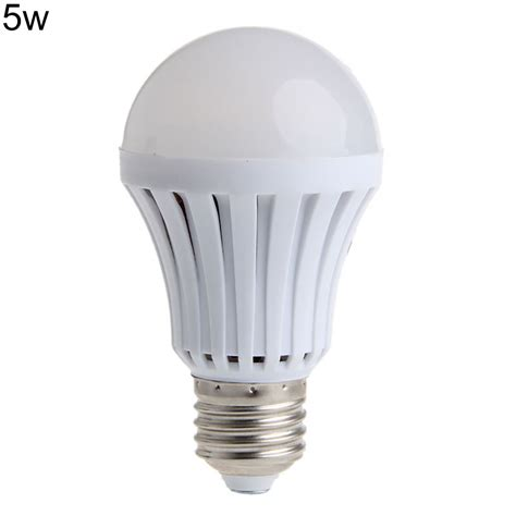 Lu Led Bulb 5w In Lite E27 220v led smart bulb e27 5w 7w 9w 12w 220v light emergency lighting l finest ebay