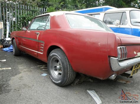 ford mustang restoration project for sale uk 1966 ford mustang restoration project
