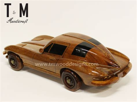 wooden car chevrolet camaro wood car wooden carved mahogany